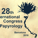 28th International Congress of Papyrology Barcelona 2016
