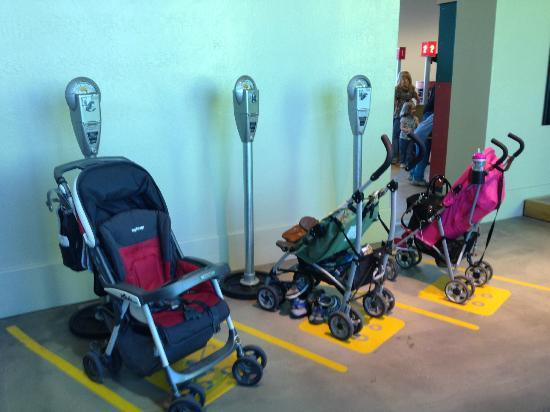 Stroller parking Children Museum Phoenix